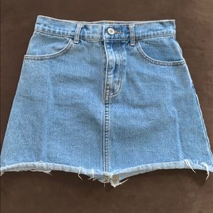 Small Jean Skirt